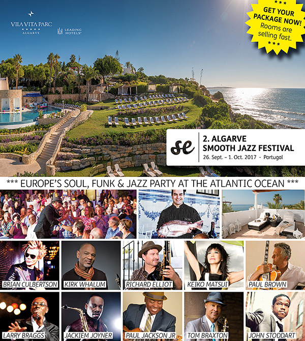2. ALGARVE SMOOTH JAZZ FESTIVAL 2017