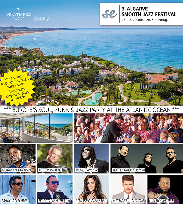 3. ALGARVE SMOOTH JAZZ FESTIVAL 2018