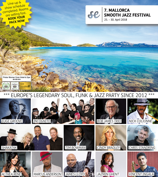 MALLORCA SMOOTH JAZZ FESTIVAL 2018