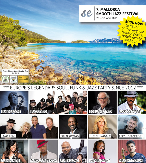7. MALLORCA SMOOTH JAZZ FESTIVAL 2018