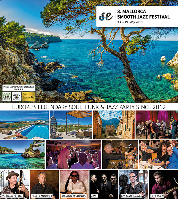 MALLORCA SMOOTH JAZZ FESTIVAL 2019