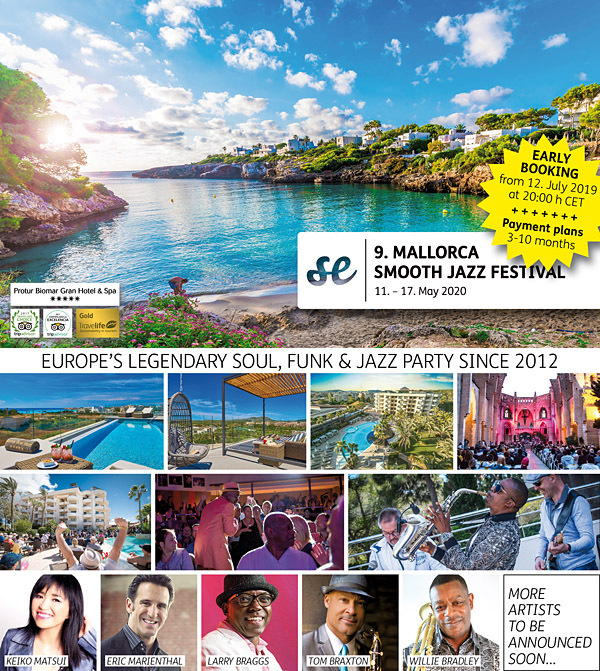 MALLORCA SMOOTH JAZZ FESTIVAL 2020